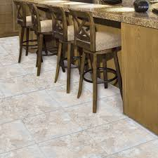 Armstrong Groutable Vinyl Tile Crescendo by Shop Style Selections 12 In X 12 In Beige Stone Peel And Stick