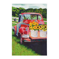 Evergreen Enterprises 12-1/2 In. X 18 In. Sunflowers On Truck Garden ... Japanese Landscapers Transform Vehicle Beds Into Mini Truck Gardens A Small Relaxed Birthday In The Garden With Lots Of Children The Japanese Mini Truck Garden Contest Is A Whole New Genre Bagetogardentruck West End News Stock Photos Images Alamy Welcome Floral Pickup Flag I Americas Flags Jim Longs Felder Rushing Visits Wheelbarrow Sack Trolley Cart 75l Capacity Tipper Miniature Susan Rushton Christmas Farm 12 X 18 2013 Open