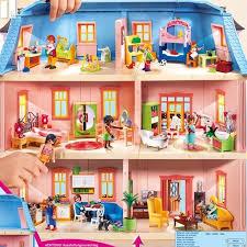 playmobil dollhouse haus 5303 mit zimmern