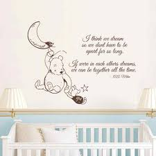 Wall Decal Winnie The Pooh by Classic Winnie The Pooh Wall Stickers For Nursery Winnie The Pooh