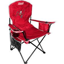 Coleman Oversized Padded Quad Chair Side Cooler by Choose Your Nfl Team Xl Big Boy Cooler Armrest Quad Folding Chair