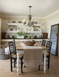 chic dining room ideas shabby table and chairs pictures small