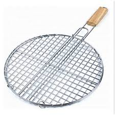 grille cuisine grille a barbecue ronde 40 cm metal cuisine achat vente grill