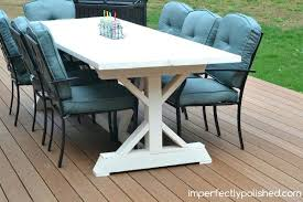 Pallet Patio Table Plans by Dining Table Diy Pallet Outdoor Dining Table Plans Diy Patio