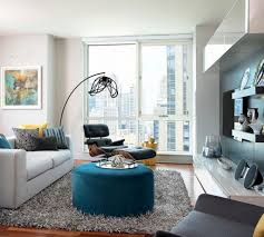 Small-apartment-living-room-eames-lounge-chair | Condo ...