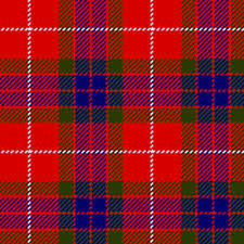 Fraser Clan Badge Tartan
