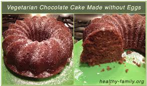 Chocolate Cake without Eggs Recipe Using Flax Seed Meal Healthy