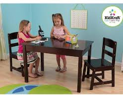 Kidkraft Avalon Desk Assembly by Amazon Com Kidkraft Rectangle Table And 2 Chair Set Natural