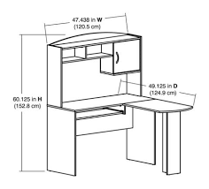 Mainstays Computer Stand Instructions by Mainstays L Shaped Desk With Hutch Multiple Colors Walmart Com