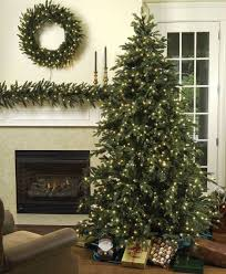 Slimline Christmas Trees With Lights by Decoration Ideas Green Artificial Christmas Tree With Small Yellow