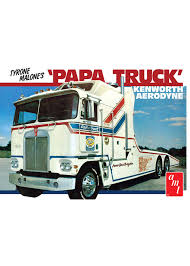 AMT Tyrone Malone's Kenworth Aerodyne Papa Truck - Model Sports ...