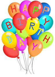 Birthday clipart transparent background 4