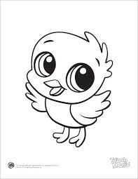 Learning Friends Chick Baby Animal Coloring Printable From LeapFrog The Prepare Kids For