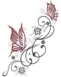 Gorgeous Butterfly Tattoos That Look Wonderful On The Lower Back