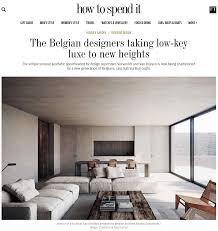 100 Interior Designers And Architects Nicolas Schuybroek Journal
