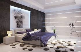 Modern Bedroom Wallpaper Background Contemporary New Ideas Patterned