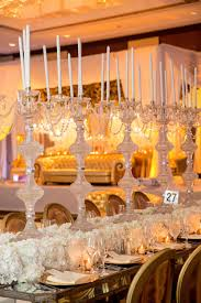 Rinal Ruchir Gold And White Table Decor