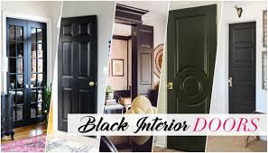Home Interior Doors Why I Chose Black Interior Doors For My New House