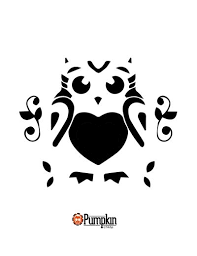 Cute Pumpkins Stencils by Cute Owl Pumpkin Carving Clipart Clipartpig