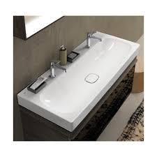 allia citterio lavabo plan allia citterio en céramique de 120 x