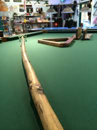 Every Rustic Style Pool Table Needs A Bridge Cue And Accessory Package To Go