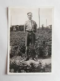 Image Is Loading Vintage 50s B W Photograph British Boy Scout In