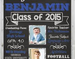 Personalized Graduation Poster Custom 16x20 Gift Or Party Decoration
