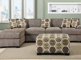 sofa sofa with reversible chaise outstanding buchannan faux