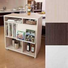 Display Rack With Casters Partition Nordic Storage Furniture Flap Door Bookshelf Doors Shelf Wagon Ornament