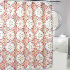 Bed Bath And Beyond Bathroom Curtain Rods by Buy Coral Shower Curtains From Bed Bath U0026 Beyond