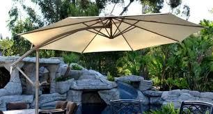 fset Patio Umbrella – Beige 10 AdjustableQuality Patio