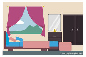 Bedroom Clipart Kid The Learning Site Ways To Design Your Room Flooring Material