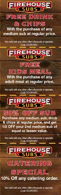 Firehouse Subs Coupons Codes Top 10 Punto Medio Noticias Bulldawg Food Code Smashburger Coupon 5 Off 12 Coupons Deals Recipes Subway Print Discount Firehouse Subs 7601 N Macarthur Irving Tx 2019 All You Need To Valpak Coupons Findlay Ohio Code American Girl Doll Free Jerry Subs Coupon Oil Change Gainesville Florida Myrtle Beach Sc By Savearound Issuu Free Birthday Meals Restaurant W On Your New 125 Photos 148 Reviews Sandwiches 7290 Free Sandwich From Mullen Real Estate Team Donate 24pack Of Bottled Water Get Medium Sub Jersey Mikes Printable For Regular Page 3