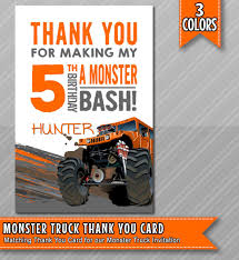 Monster Truck Thank You Card, Monster Truck Party Printable, Monster ... Monster Jam Party Supplies And Invitationsthis Party Nestling Truck Invitations Monster Truck Invitation Other Than Airplanes Birthday Shirt Cartoon Extreme Sports Vector Stock Royalty Printable Chalkboard Package Archives Diy Home Decor Crafts Blaze The Machines 8 Ct Walmartcom Gangcraft Grave Fill In Style 20 Count Invitations Compare Prices At Nextag Invitation Racing Car 2 3 4 5