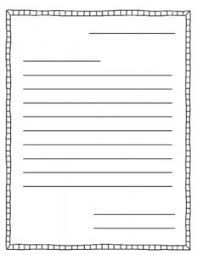 Best Ideas Letter Writing Paper Friendly Letter by Jenny Adkins