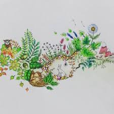 Enchanted Forest By Johanna Basford More BookColoring