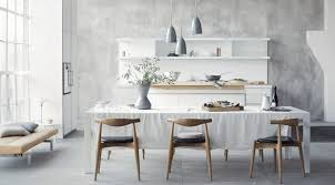 skandinavische küchen schlicht einladend funktional