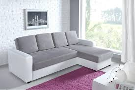canape gris et blanc canape gris et blanc canapac d angle relax canap cuir but