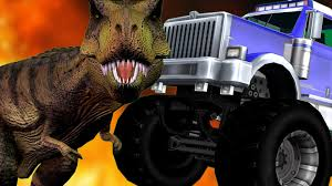 Deadly Dinosaur Vs Monster Truck | Cartoon Animation Fighting Video ... Robosaurus Returning To Febird Intertional Raceway For 2011 Napa Betty White Inside A Rhinocerous Shaped Monster Truck Getting Fucked Dino Attack Survival Drive Safari Land 2018 Free Download Of Color Dinosaur Gorilla 3d Dance In Monster Car Kids Colour Cartoon Grandson Miles 5 Yo Birthday Cake 4 Trucks Crushi Flickr Y56tm Mini Pull Back Cars And Go Mansfield Ohio Motor Speedway Truck Cartoons Driving Driver Artstation Cature Concepts Mauricio Ruiz Design For Amazoncom Trex Theme Toy Toys Games