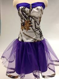 snow camoflage purple and sunflower wedding home ball gowns