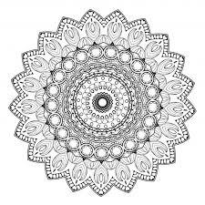 Free Printable Mandala Coloring Pages For Adults Pdf Mandalas Templates