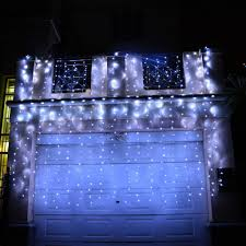 Ebay Christmas Trees With Lights by Curtain Christmas Tree Lights Decorate The House With Beautiful