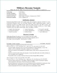 Military Veteran Resume Examples Awesome To Civilian Igniteresumes Of