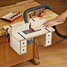 Bench Mounted Router Table
