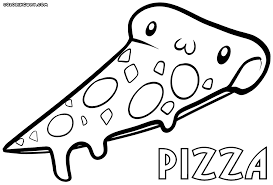 Pizza Coloring Pages Best Of Kawaii Mamegoma Pictures Inspiration Example