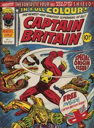 Figure 315 The Debut Of Captain Britain