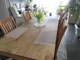 esstisch und 4 stühle vollholz eiche royal oak dänisches
