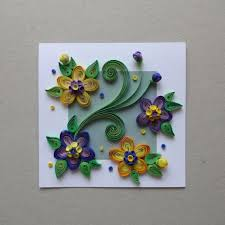 3d Flower Handmade Birthday Cards
