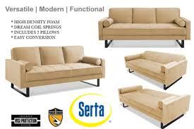 Serta Dream Convertible Sofa by Incredible Serta Sofa Sleeper Serta Sofa Sleeper Rooms U2013 Interiorvues