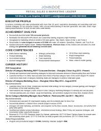 Competencies List For Resume by Marketing Director Resume Exle
